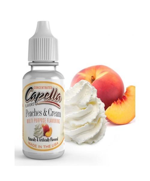 Capella Flavor - Peaches and Cream 13 ml Aroma Concentrato