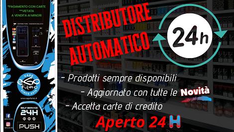 egofumo vape shops distributore automatico 24h